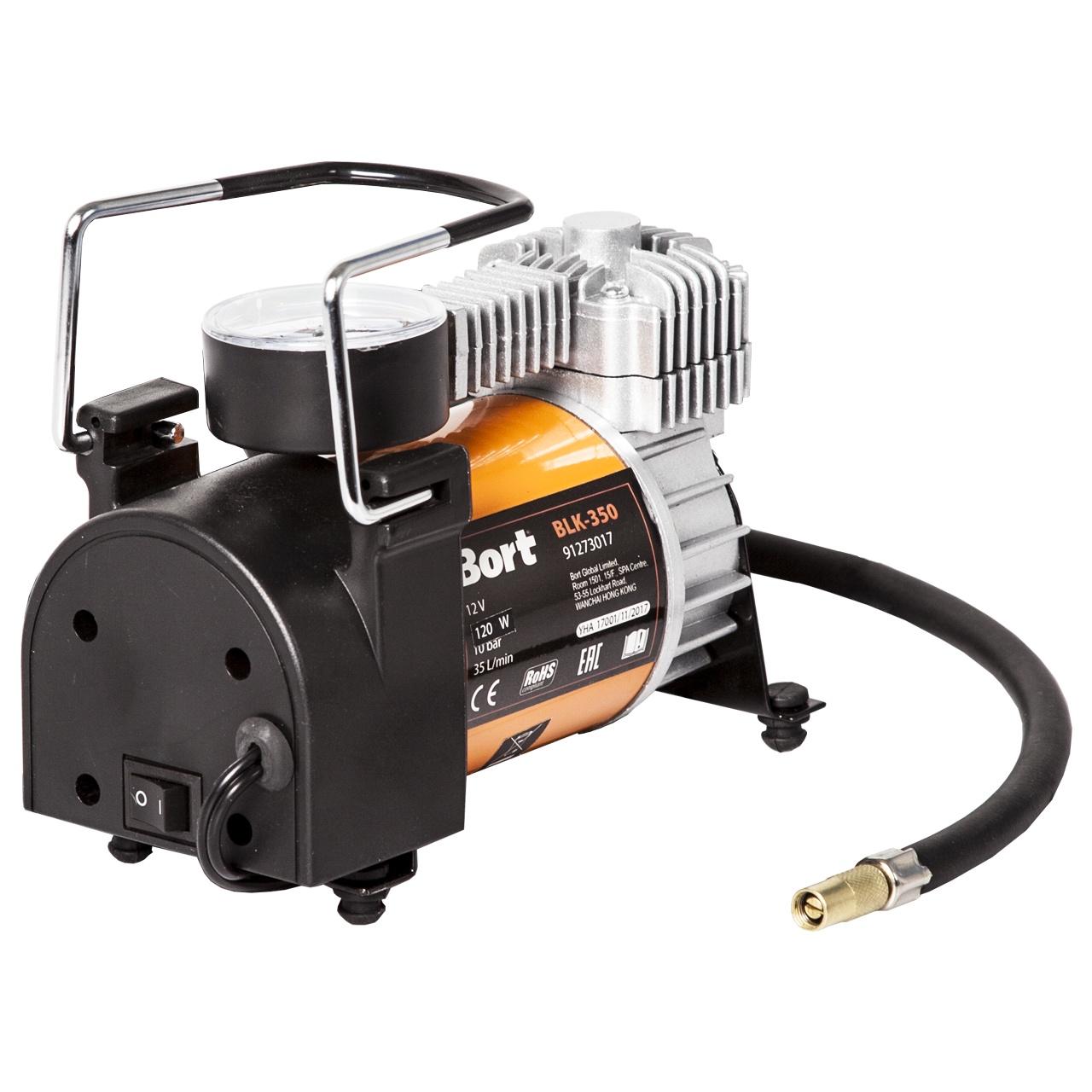 Автомобильный компрессор Bort BLK-350 автомобильный компрессор bort blk 350