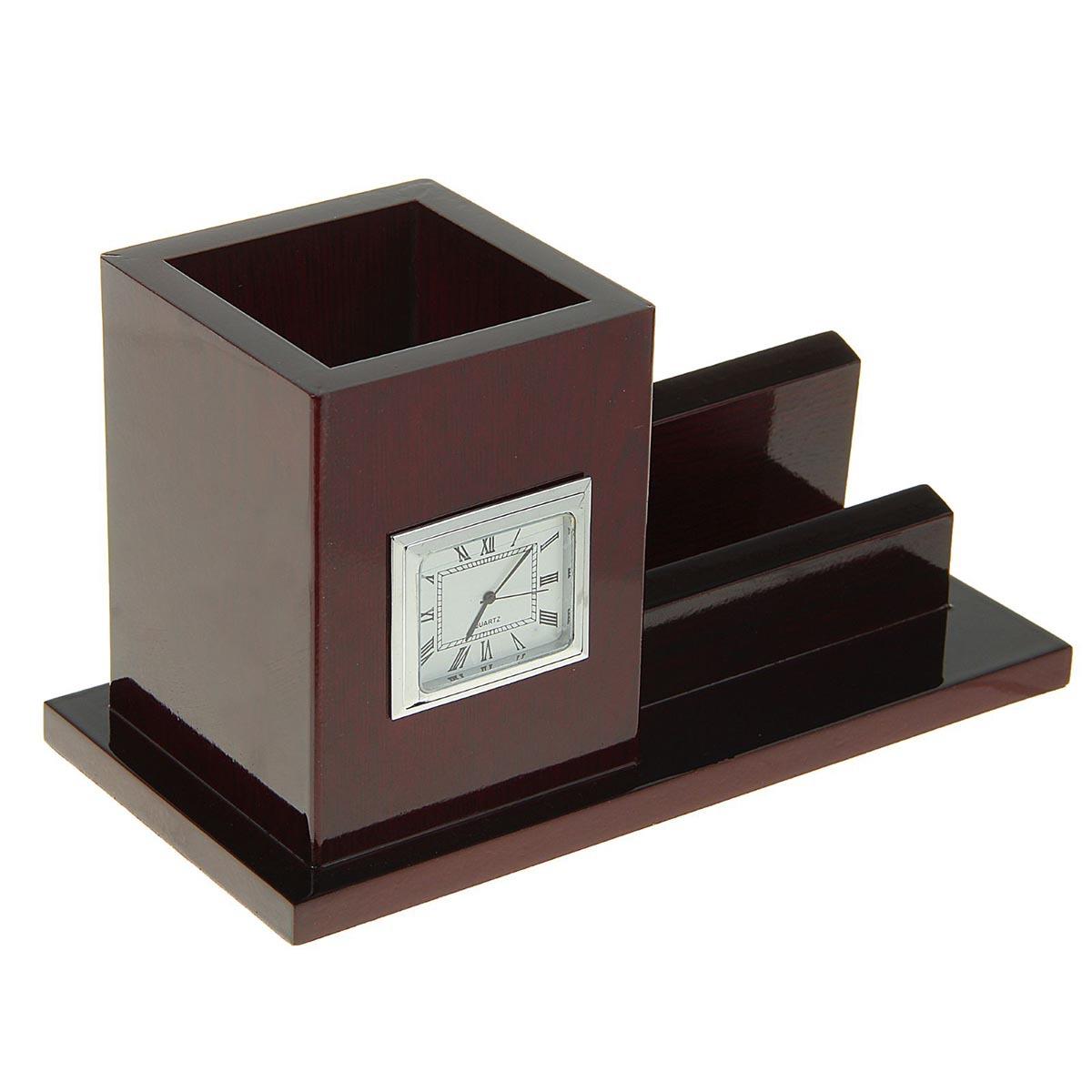 Канцелярский набор 3 в 1, 1643028, коричневый, 12 х 25 см