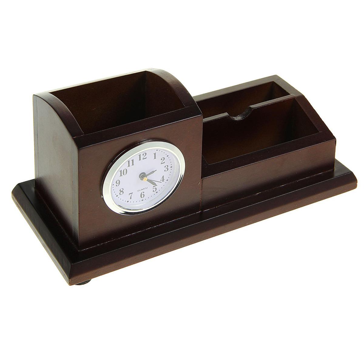 Канцелярский набор 2 в 1, 1770850, коричневый, 10 х 22,5 см