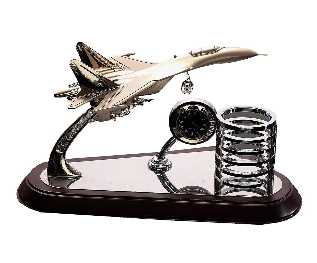 Канцелярский набор Самолет 3 в 1, 3598555, коричневый, 14,5 х 25 см