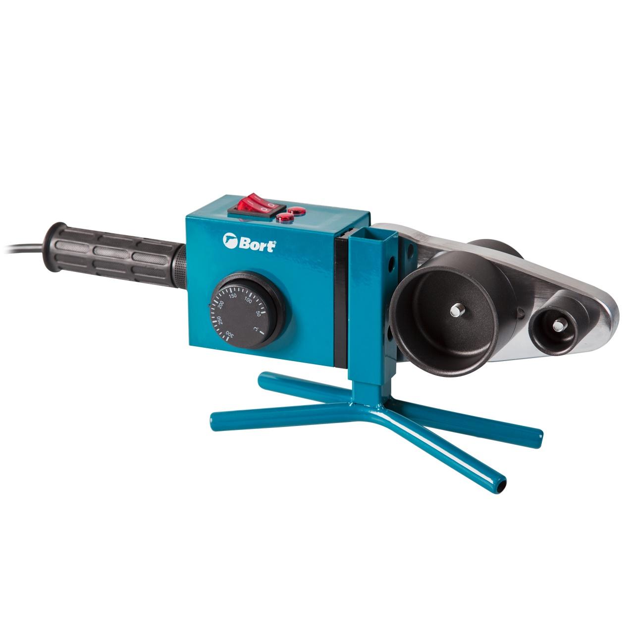 Аппарат для сварки труб Bort BRS-2000 аппарат для сварки пластиковых труб калибр сва 900т