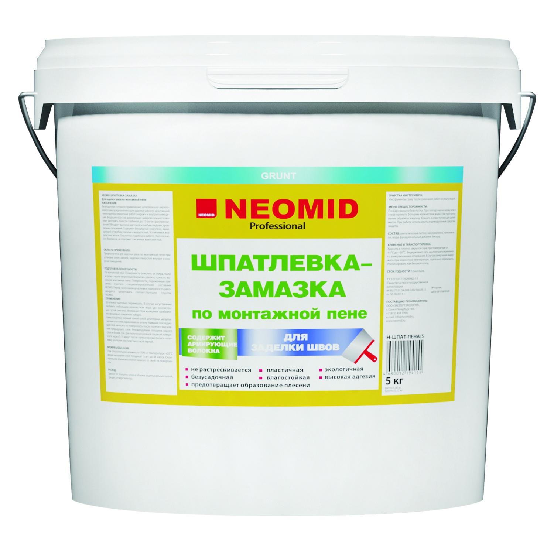 Герметик Neomid Шпатлевка, светло-серый
