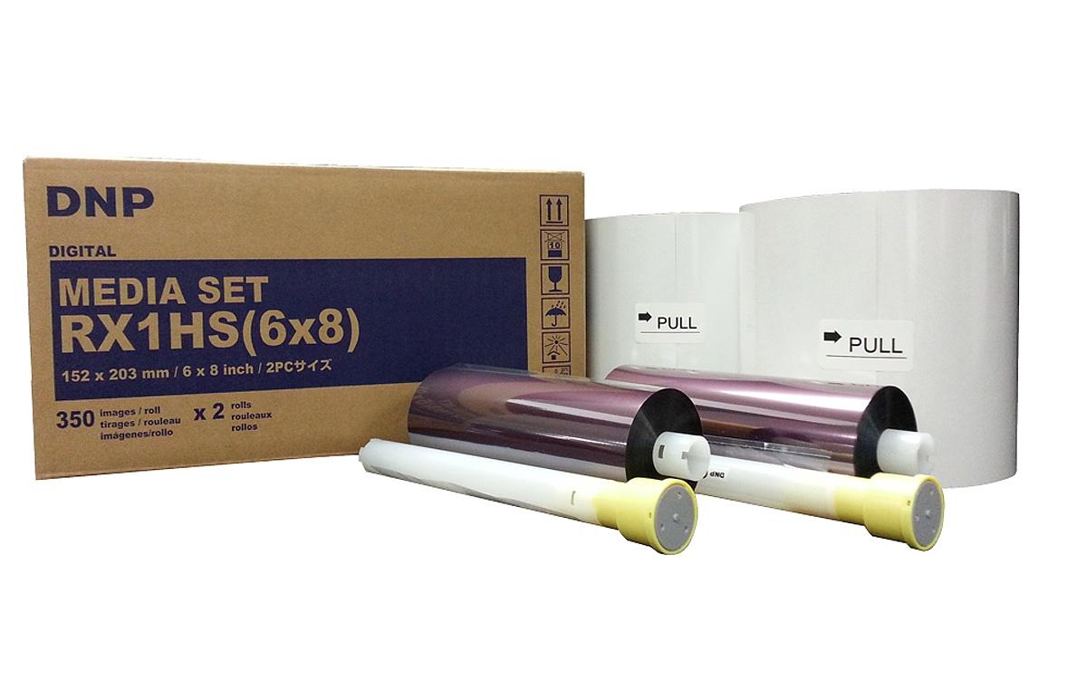 Картридж DNP DSRX1_A5_HS, для термосублимационных принтеров, цена и фото