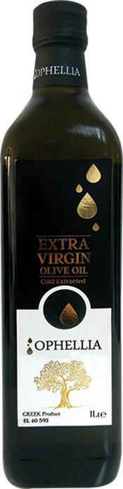 Оливковое масло Ophellia Экстра Вирджин, бутылка, 1 л бутылка balvi sea horse 1 2 л
