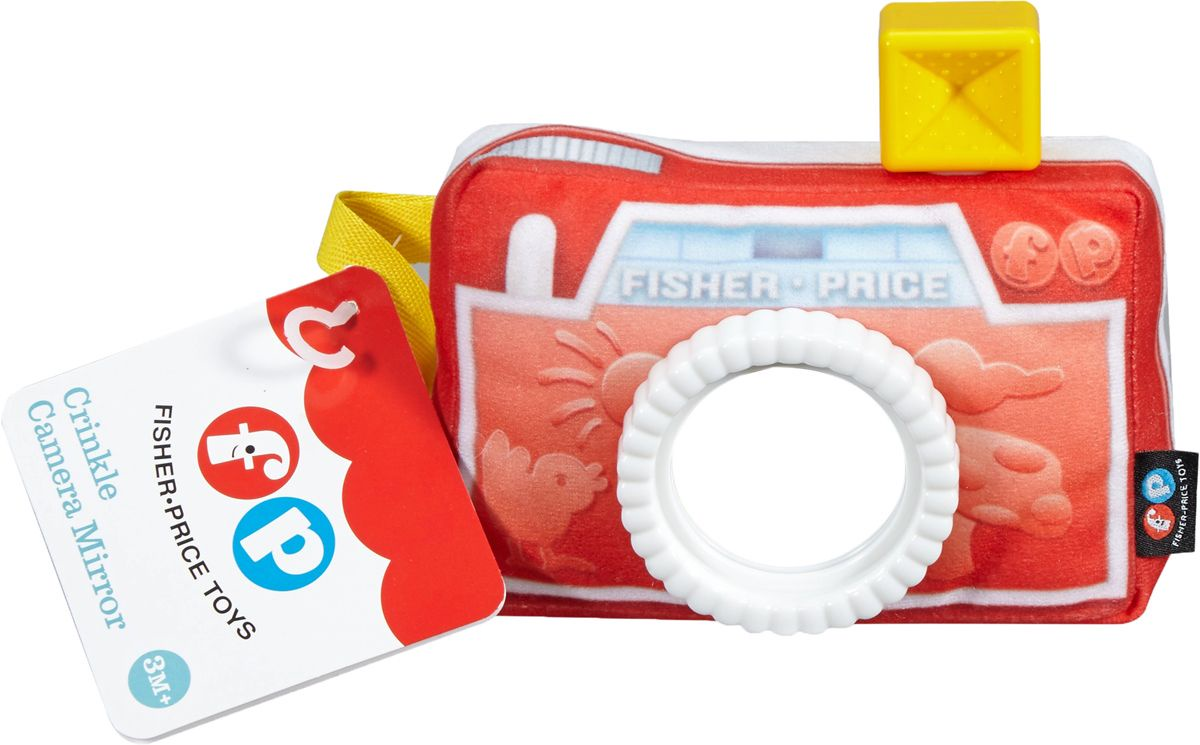 """Fisher-Price Мягкая игрушка """"Фотоаппарат"""" с зеркальцем"""