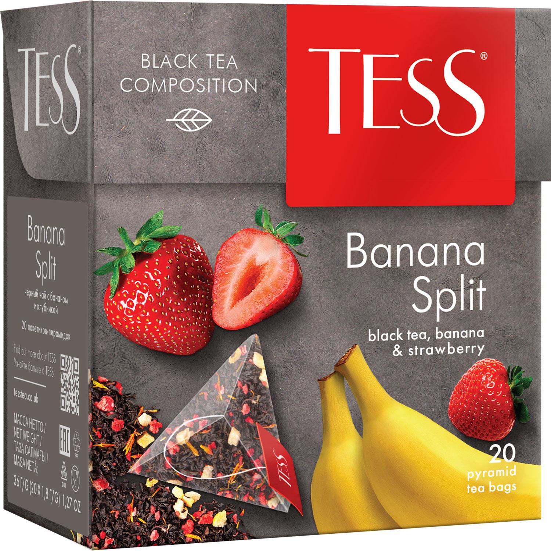 Tess Banana Split фруктовый чай в пакетиках, 20 шт цена