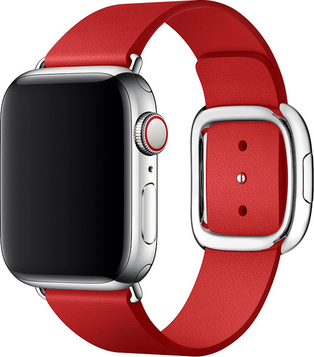 Ремешок для смарт-часов Apple Watch 40mm (Product) Red Modern Buckle Band, красный, размер Small аксессуар ремешок apple watch 40mm sport band s m m l midnight blue mtph2zm a