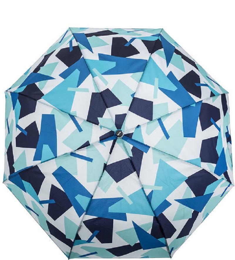 Зонт Doppler Crush, бежевый, голубой, синий, светло-зеленый зонт doppler 7441465 pe2
