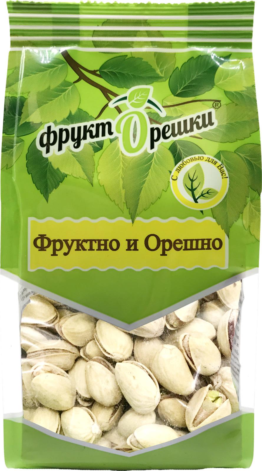Фисташки жареные соленые Фрукторешки, 200 г