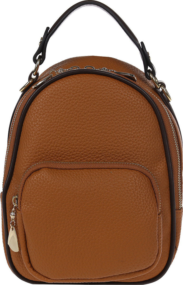 Рюкзак женский DDA, LB-1335 BR, коричневый цена 2017