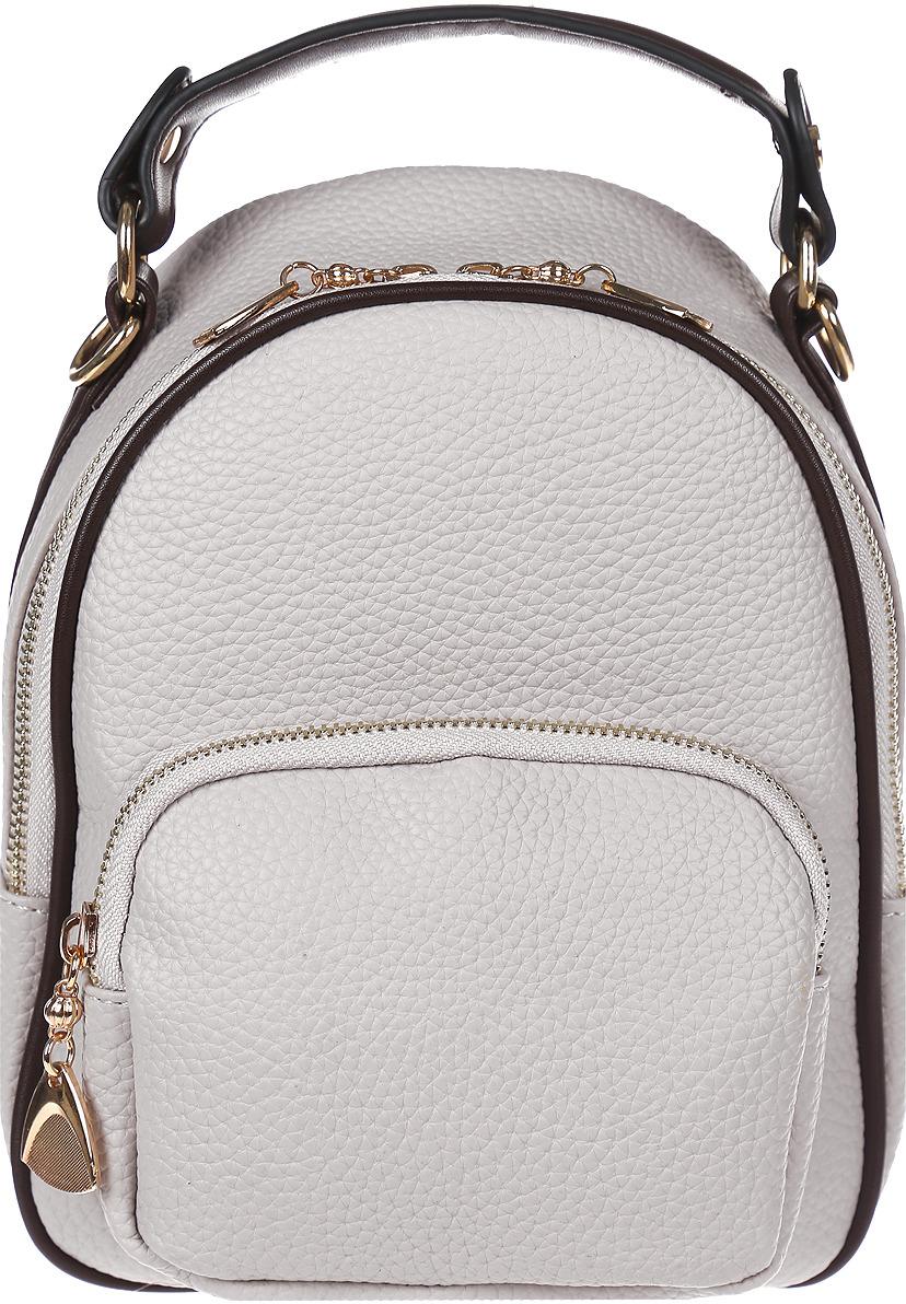 Рюкзак женский DDA, LB-1334 GR, серый цена 2017