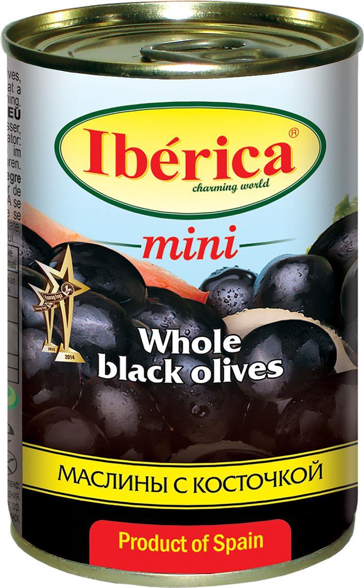 Овощные консервы Iberica Маслины мини с косточкой, 300 г цена в Москве и Питере
