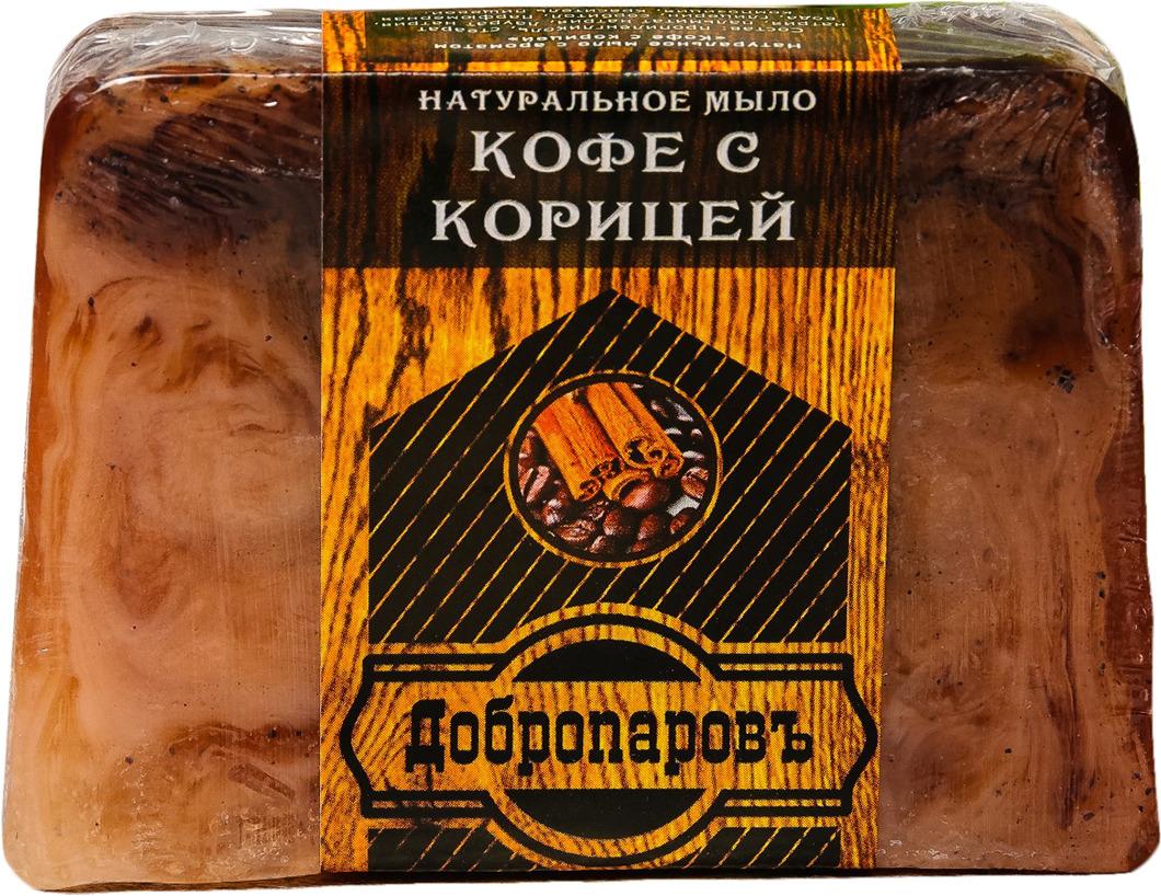 Натуральное мыло Добропаровъ Корица и кофе, 100 г скраб для сауны из кофе
