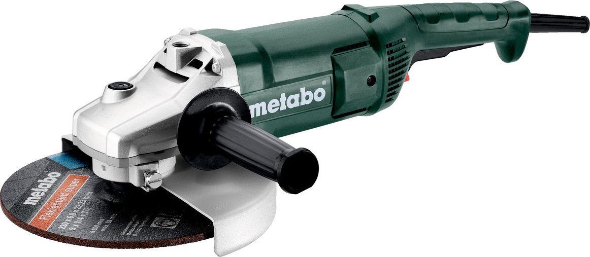 Шлифмашина угловая Metabo, 606430010, темно-зеленый, черный, красный