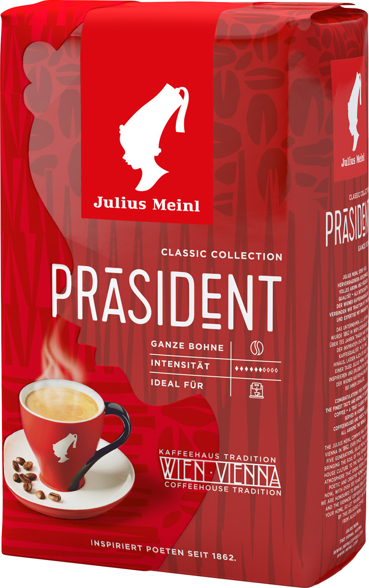 Julius Meinl Президент кофе молотый, 500 г цена