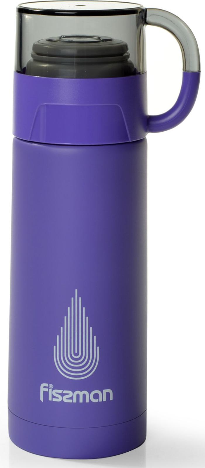 Термос Fissman, 9653, фиолетовый, 350 мл