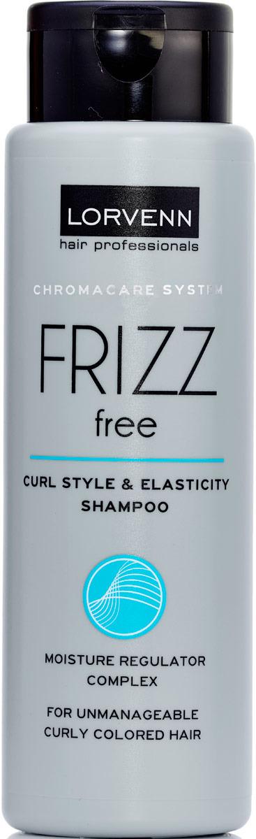 шампуни lorvenn шампунь для непослушных вьющихся и окрашенных волос frizz free 100мл Шампунь Lorvenn Frizz Free, для непослушных, вьющихся, окрашенных волос, 300 мл