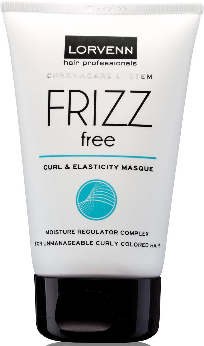 шампуни lorvenn шампунь для непослушных вьющихся и окрашенных волос frizz free 100мл Маска Lorvenn Frizz Free, для интенсивного увлажнения непослушных, вьющихся и окрашенных волос, 100 мл