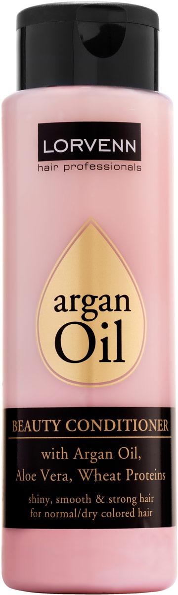 Кондиционер Lorvenn Argan Oil Beauty Conditioner, для интенсивного ухода за волосами, 300 мл