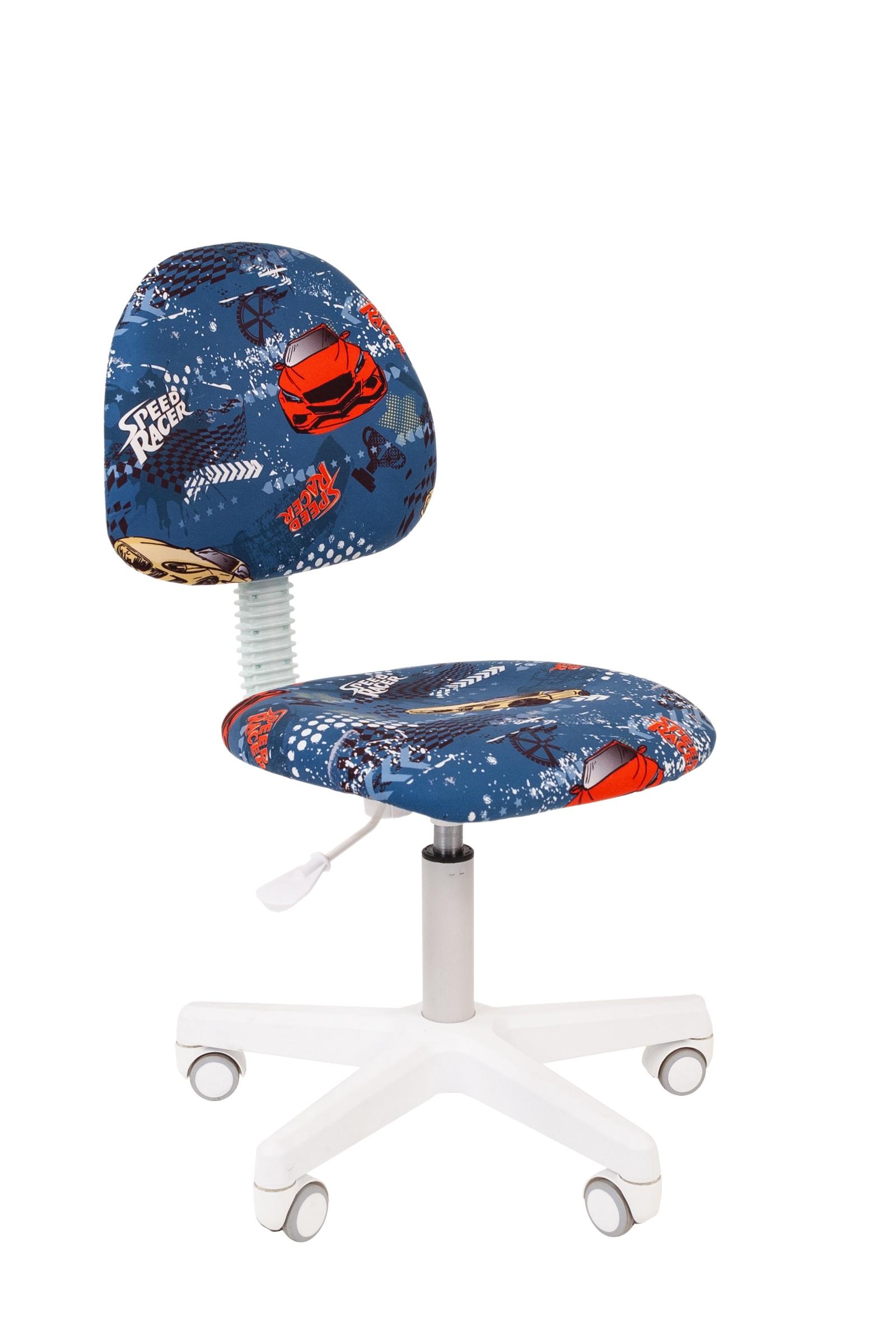 Кресло детское CHAIRMAN Kids 104, синий