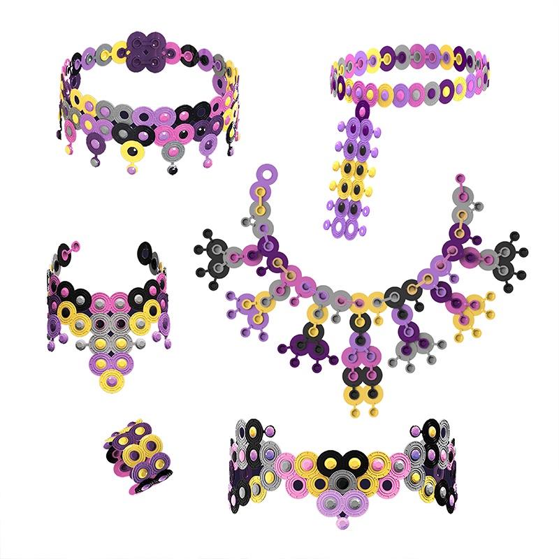 Биплант развивающий набор для творчества создай свое украшение Чокеры арт-набор №2 11131 украшения чокеры