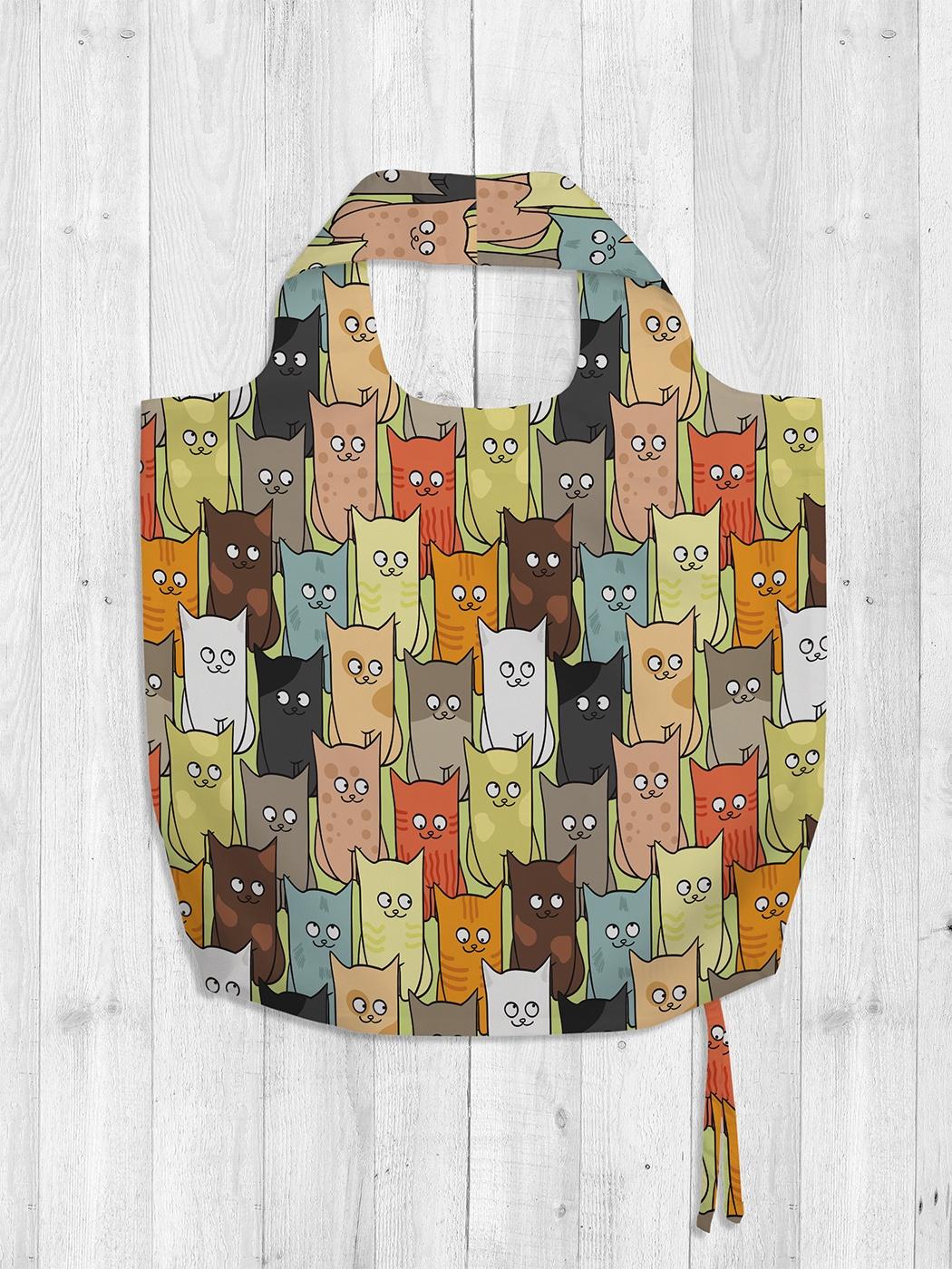 Сумка на плечо JoyArty сумка для покупок текстильная йошкин кот