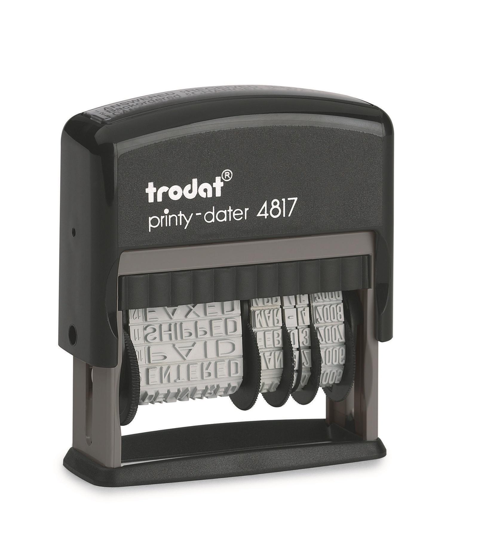 Датер Trodat 4817, черный