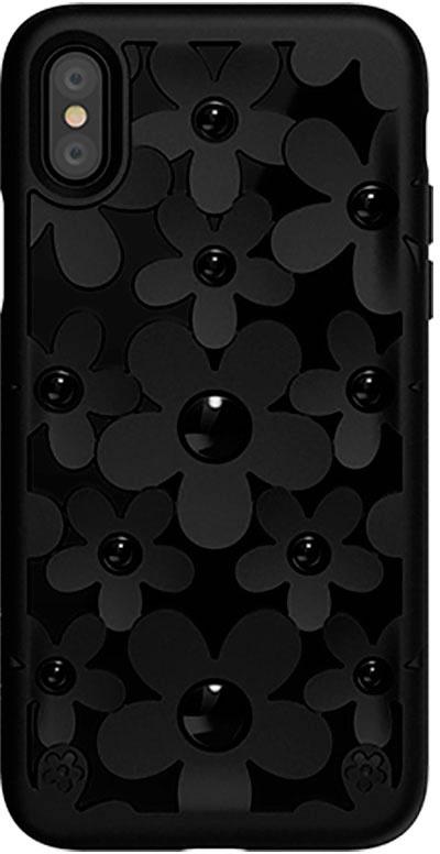 Чехол для сотового телефона SwitchEasy Fleur for 2018 iphone XS, черный цена