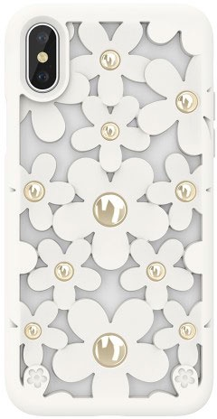 Чехол для сотового телефона SwitchEasy Fleur for 2018 iphone XS, белый цена