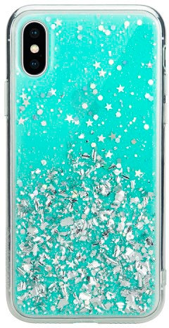 Чехол для сотового телефона SwitchEasy Starfield for 2018 iphone XS, голубой цена