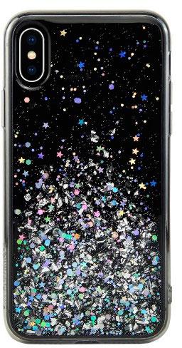 Чехол для сотового телефона SwitchEasy Starfield for 2018 iphone XS, черный цена