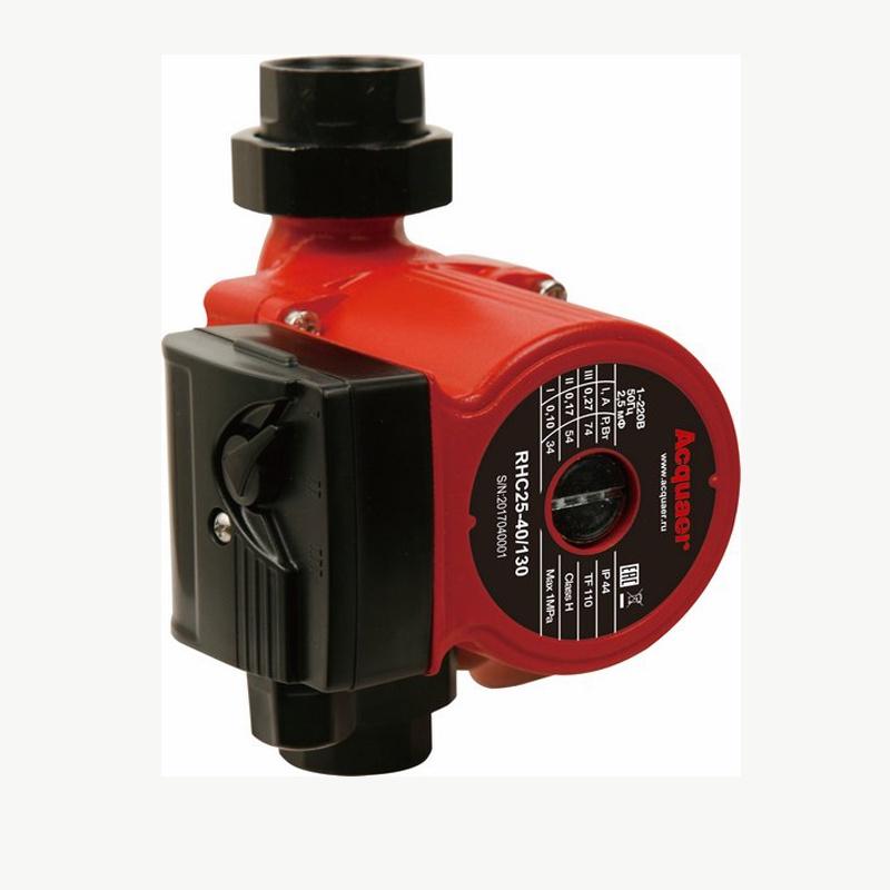 Циркуляционный насос Acquaer RHC25-40-130, красный