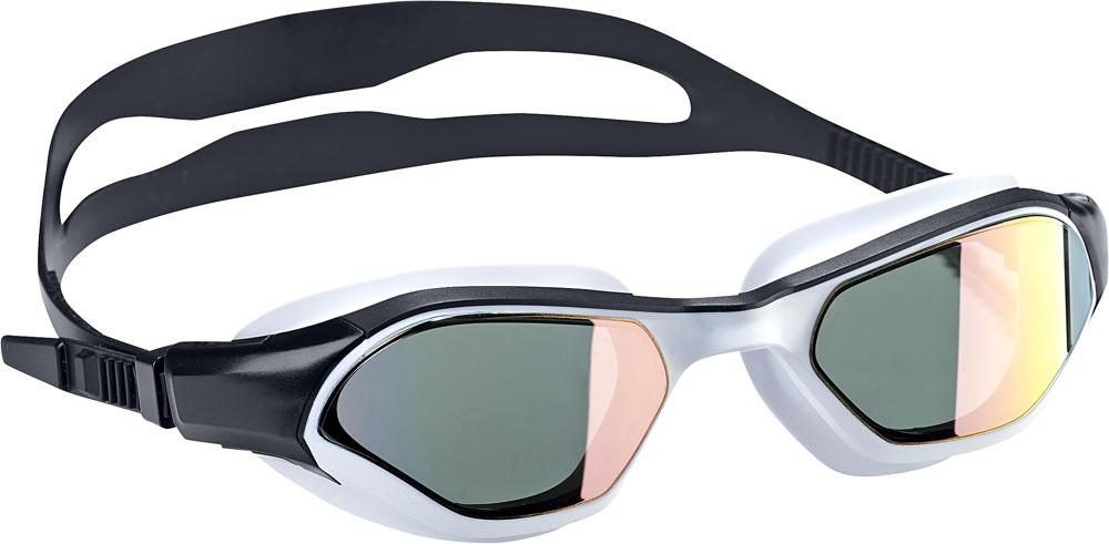 Очки для плавания Adidas Persistar 180 Mirrored, DH4512, черный, размер M очки для плавания adidas persistar 180 mirrored цвет голубой размер m