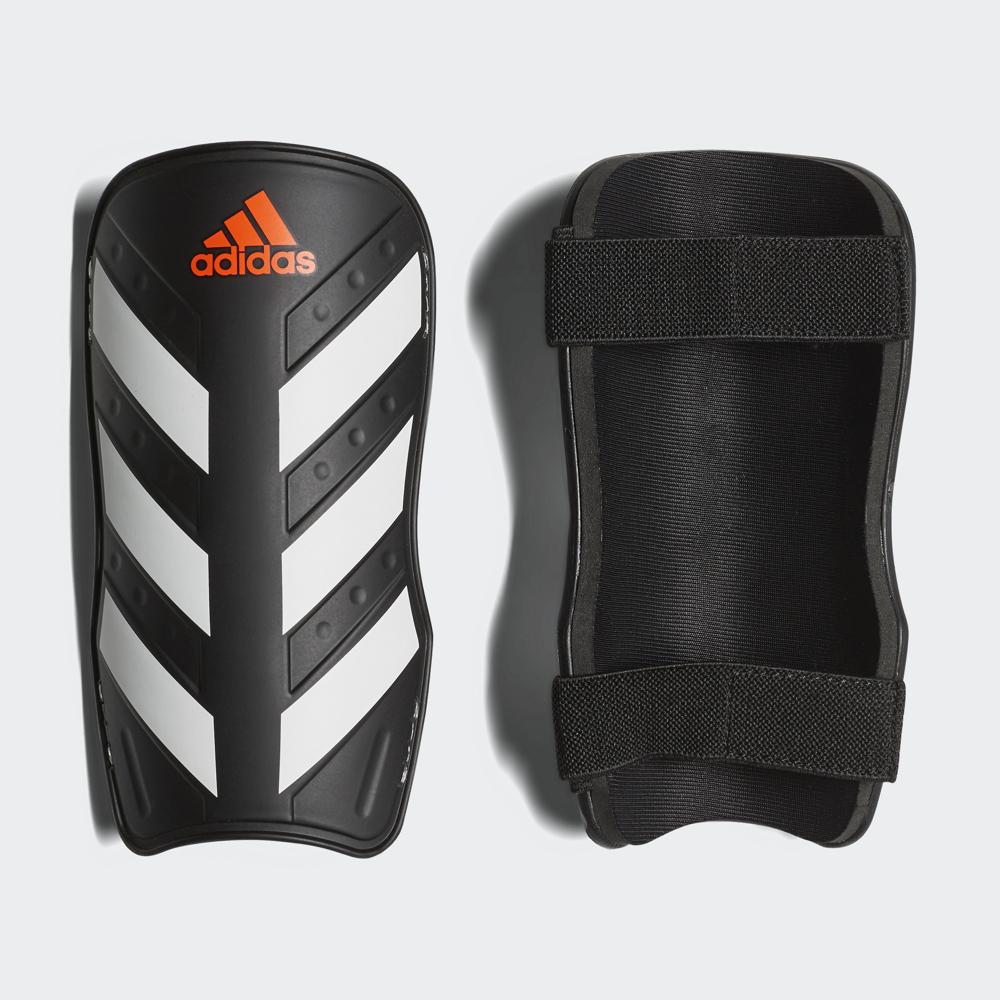 цена на Щитки Adidas Everlite, CW5559, черный, белый, размер XS