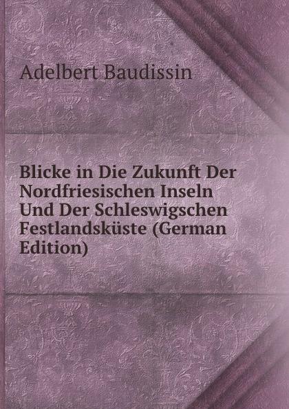 Adelbert Baudissin Blicke in Die Zukunft Der Nordfriesischen Inseln Und Der Schleswigschen Festlandskuste (German Edition) paul knuth flora der nordfriesischen inseln