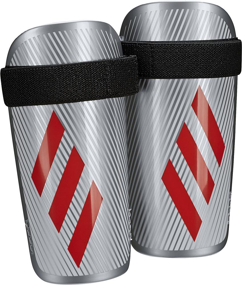 Щитки футбольные Adidas X Lite, DY2576, серебристый, размер S