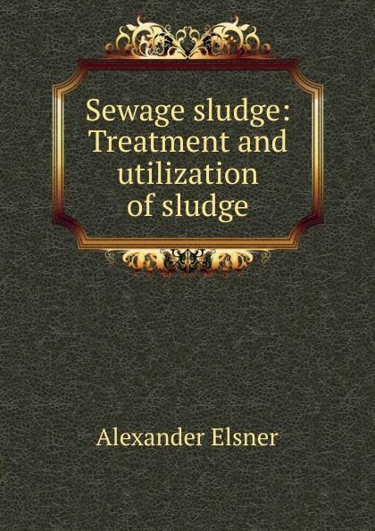 Alexander Elsner Sewage sludge: Treatment and utilization of sludge недорго, оригинальная цена