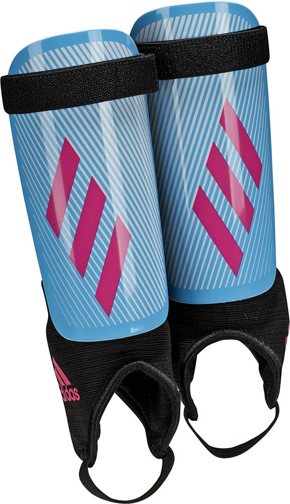 Щитки футбольные Adidas X Youth, DY2583, голубой, размер L