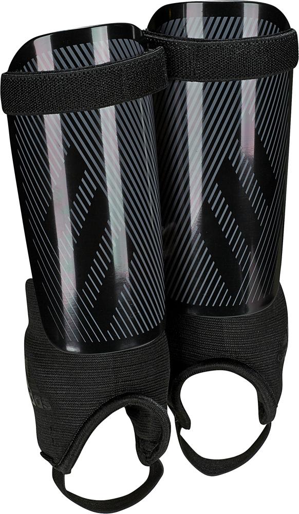 Щитки футбольные Adidas X Youth, DY2585, черный, размер M