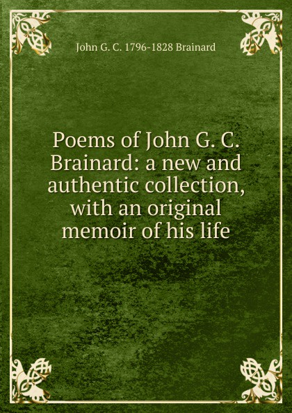 Фото - John G. C. 1796-1828 Brainard Poems of John G. C. Brainard: a new and authentic collection, with an original memoir of his life 5pcs em78p156elpj g dip18 em78p156elpj dip em78p156 new and original ic free shipping