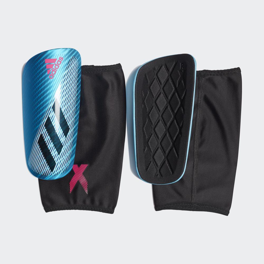 Щитки футбольные Adidas X Pro, DY0074, голубой, размер M