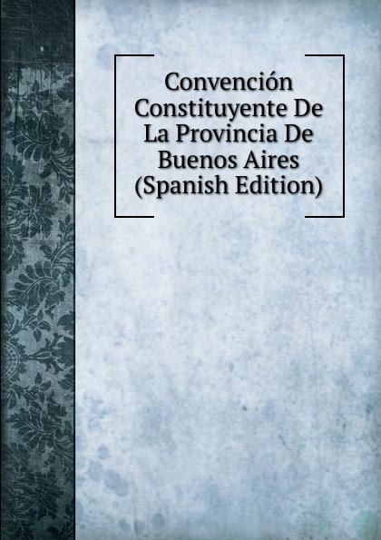 Convencion Constituyente De La Provincia De Buenos Aires (Spanish Edition) cuarteto de nos buenos aires