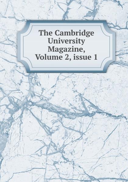 The Cambridge University Magazine, Volume 2, issue 1 hoodz dvd magazine issue 1