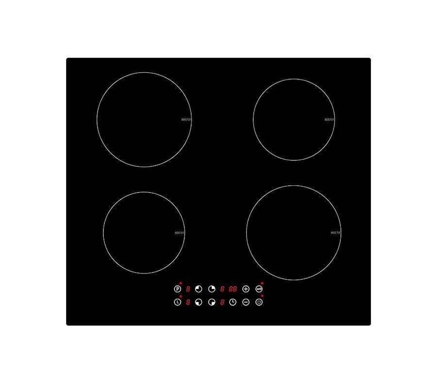 Варочная панель MBS PI-605, черный индукционная варочная панель fornelli pi 45 inizio wh