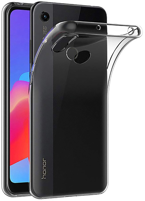 Чехол для сотового телефона GOSSO CASES для Honor 8A ClearView, прозрачный телефон dect gigaset l410 устройство громкой связи
