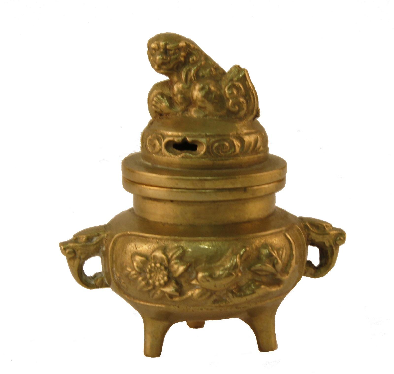 Курительница Антик Хобби миниатюрная, золотой курительница слон в тибетском стиле бронза прочеканка китай вторая половина xx века