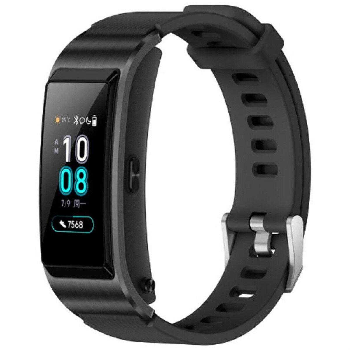 Фитнес-браслет Huawei TalkBand B5, черный чехол для сотового телефона uag monarch series case для iphone 6 plus 6s plus 7 plus 8 plus красный