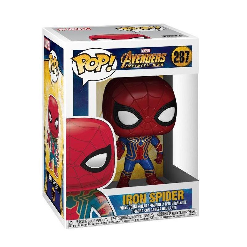 цена на Фигурка Funko Pop Avengers Infinity War - Iron Spider (Железный Человек-Паук)