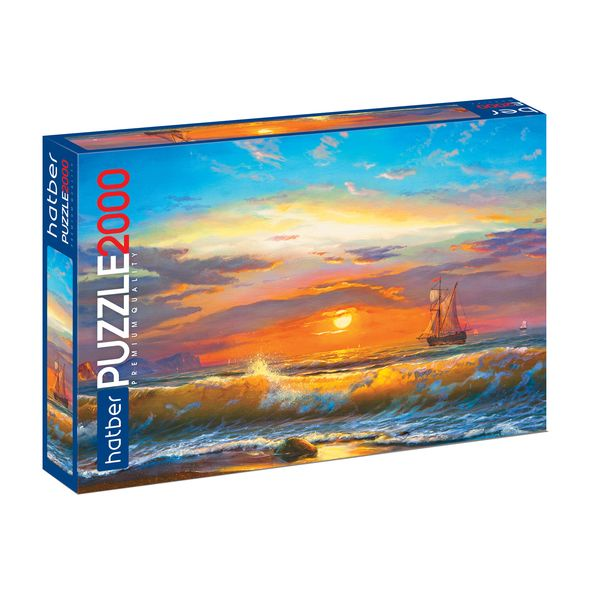 Premium ПАЗЛЫ-ИГРА 2000 элементов А1ф 960х680мм -Морской вид-