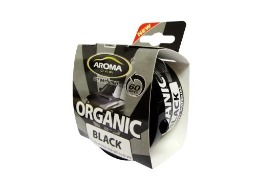 Автомобильный ароматизатор Aroma Car Organic Black автомобильный ароматизатор golden snail aroma football ванильный крем